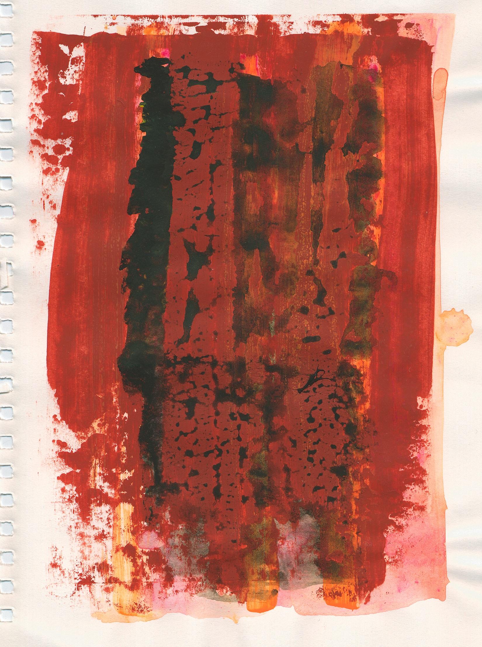 seedy film original painting
