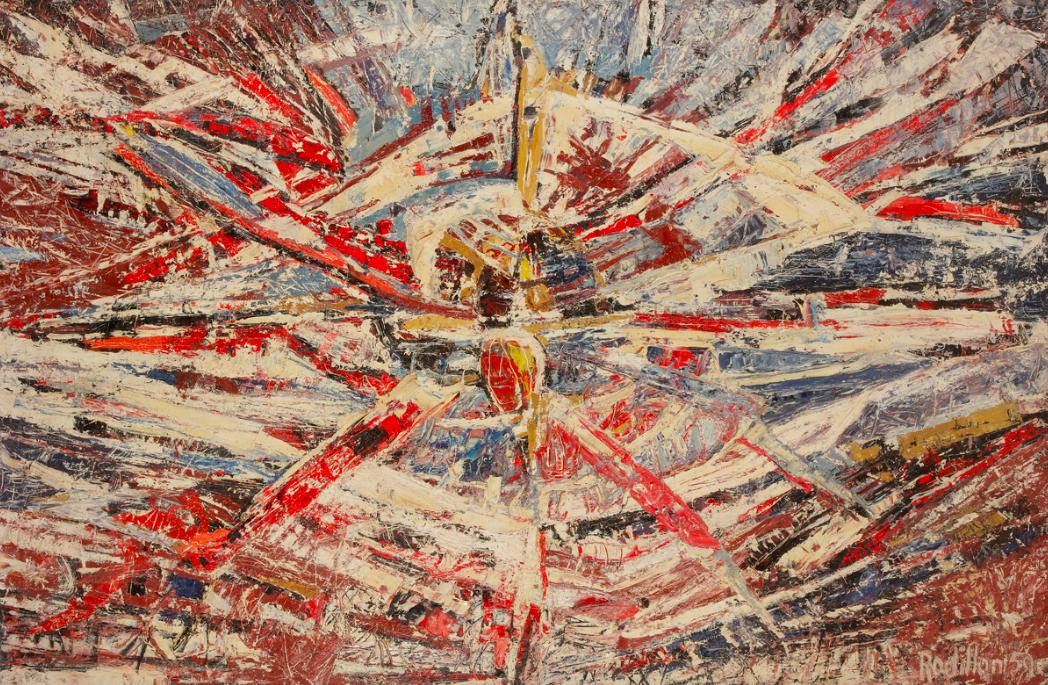 Apocalypse , 1959, huile sur toile, collection particulière