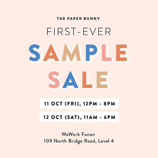 We are stoked to be partnering @thepaperbunny at their first sample sale happening this weekend. Sip on refreshing @dashdrinks & creamy @minorfigures cold brew as you shop. See you tomorrow! 😉
