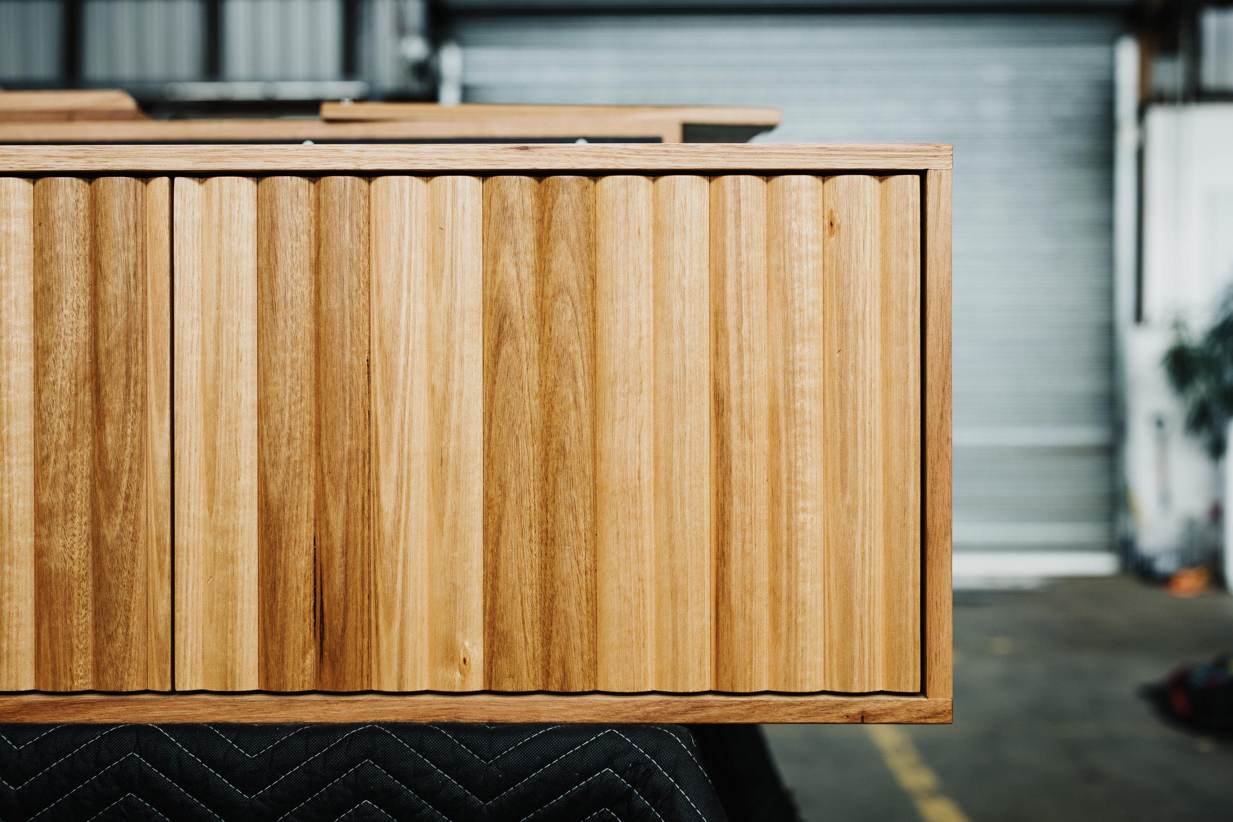 Hydrowood Oak Vanity by Ingrain - Photo: Adam Gibson