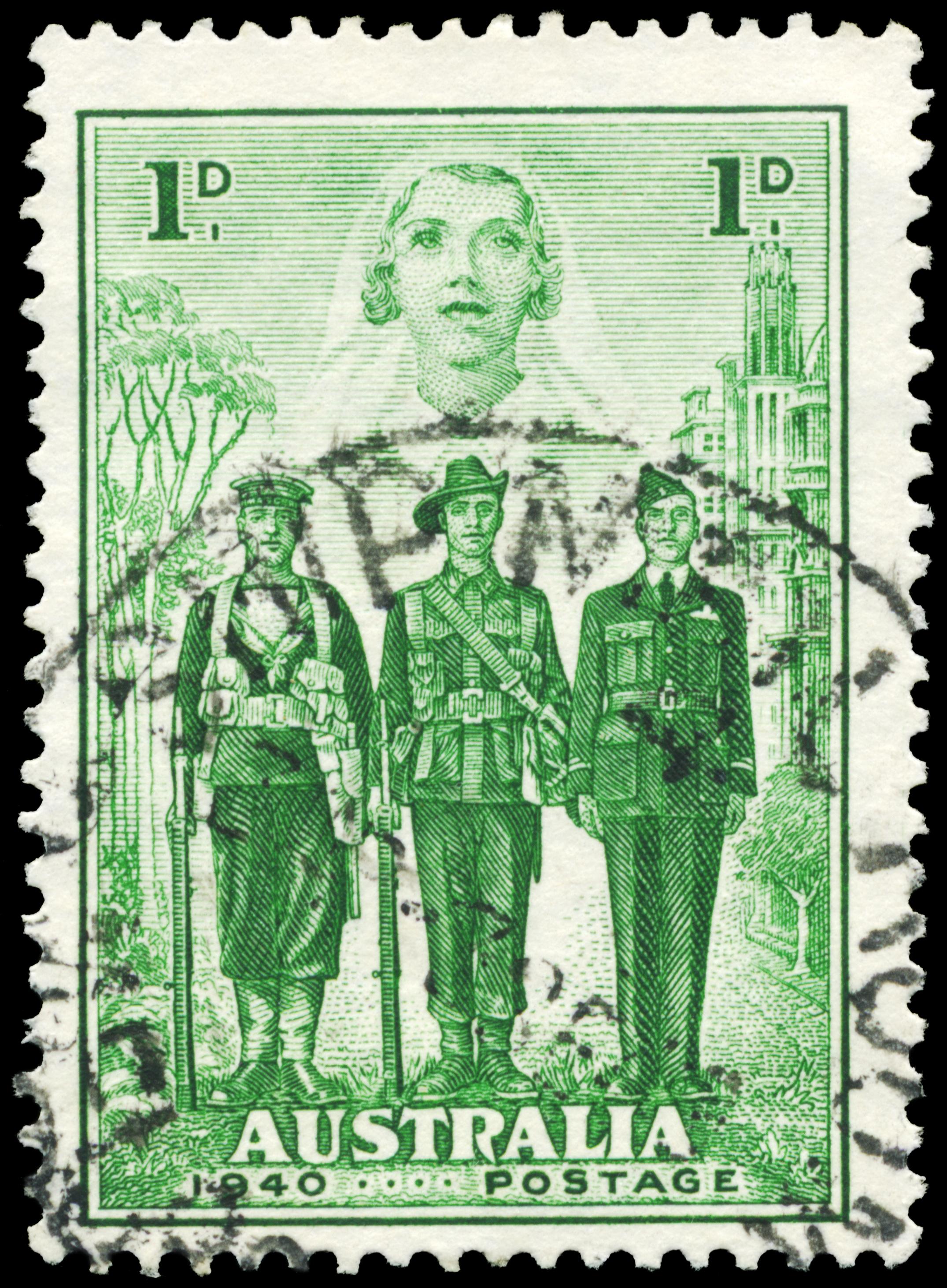 Waiting   Australian Postage Stamp 1940 iStock-178508764.jpg