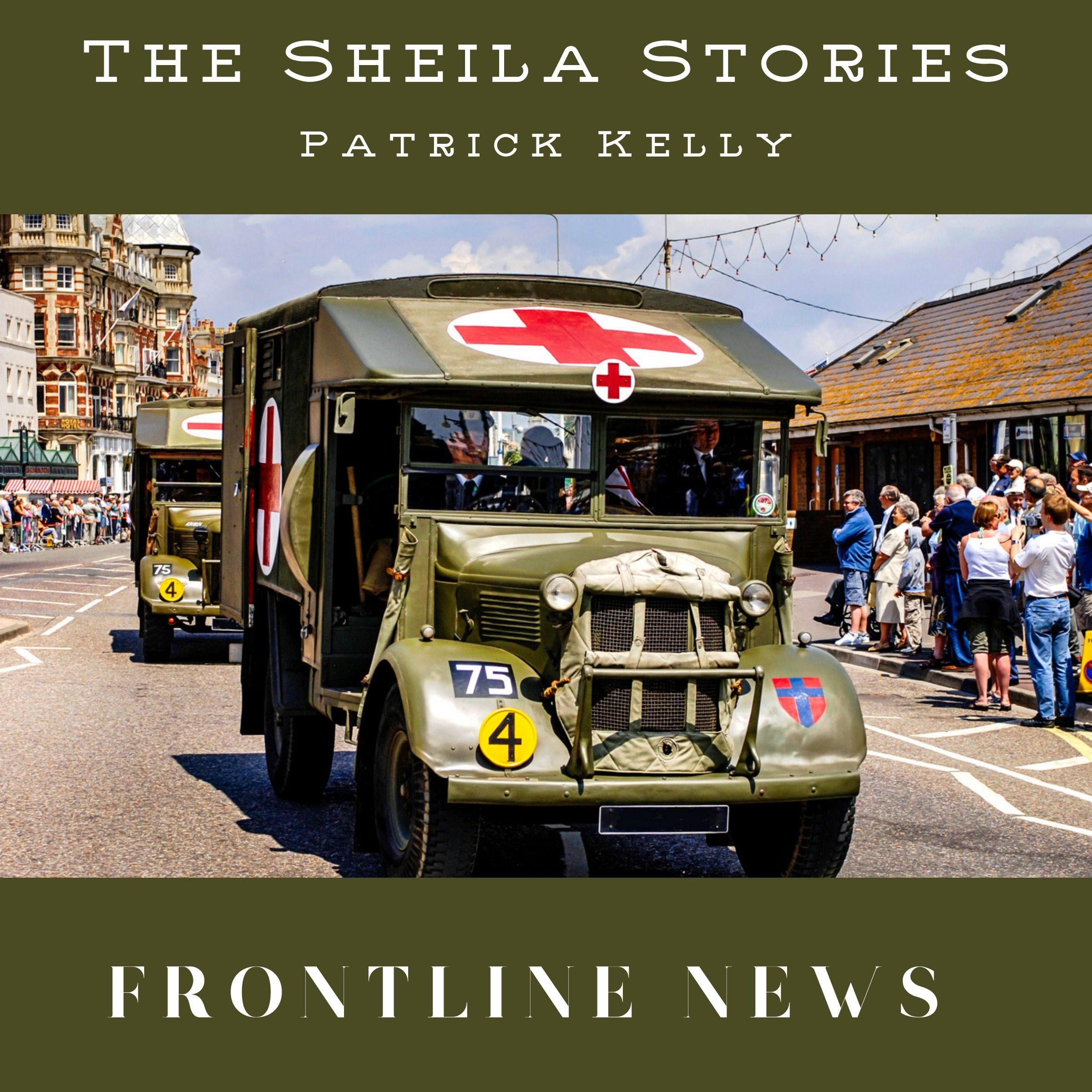 Sheila drove an ambulance at a military hospital in Tamworth.
