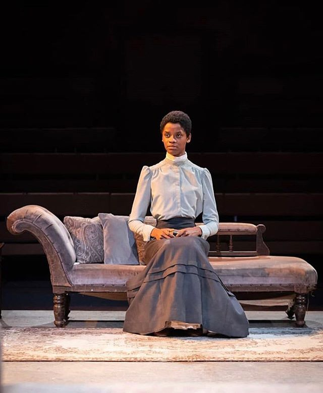I had the privilege of watching #TheConvert last week starring the phenomenal @letitiawright. Aside from being a creative wonder of writing, production and superb dialogue.. The play wrangled some of the toughest questions around race, faith, culture and colonialism to the very forefront of the audiences minds and senses.  As the cast bowed to a standing ovation, some still with tears in their eyes from the last scene (which is very moving).. I was reminded that in the thing you choose to do... the things you've been called to do... give them your all. The cast performed as if it was the first night, and only showing of the play. Congrats to all 👏🏾👏🏾 Photo via @youngvictheatre