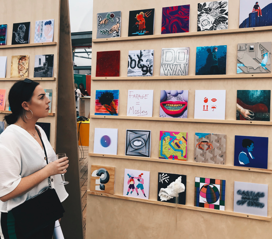 PODCAST EPISODE 1 - Having a Nosey with Charlotte Johnstone on the Creative Industry and Harsh Graduate Truths