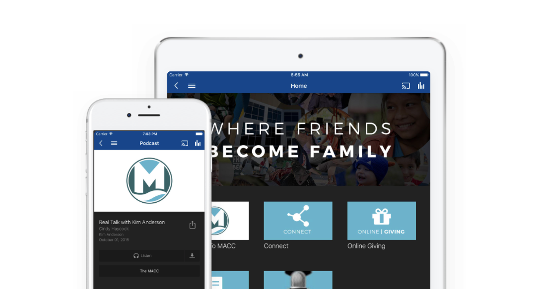 Get Our App - Watch live and archived sermons, read blogs, listen to podcasts, and stay up to date with the life and happenings going on here at MACC.