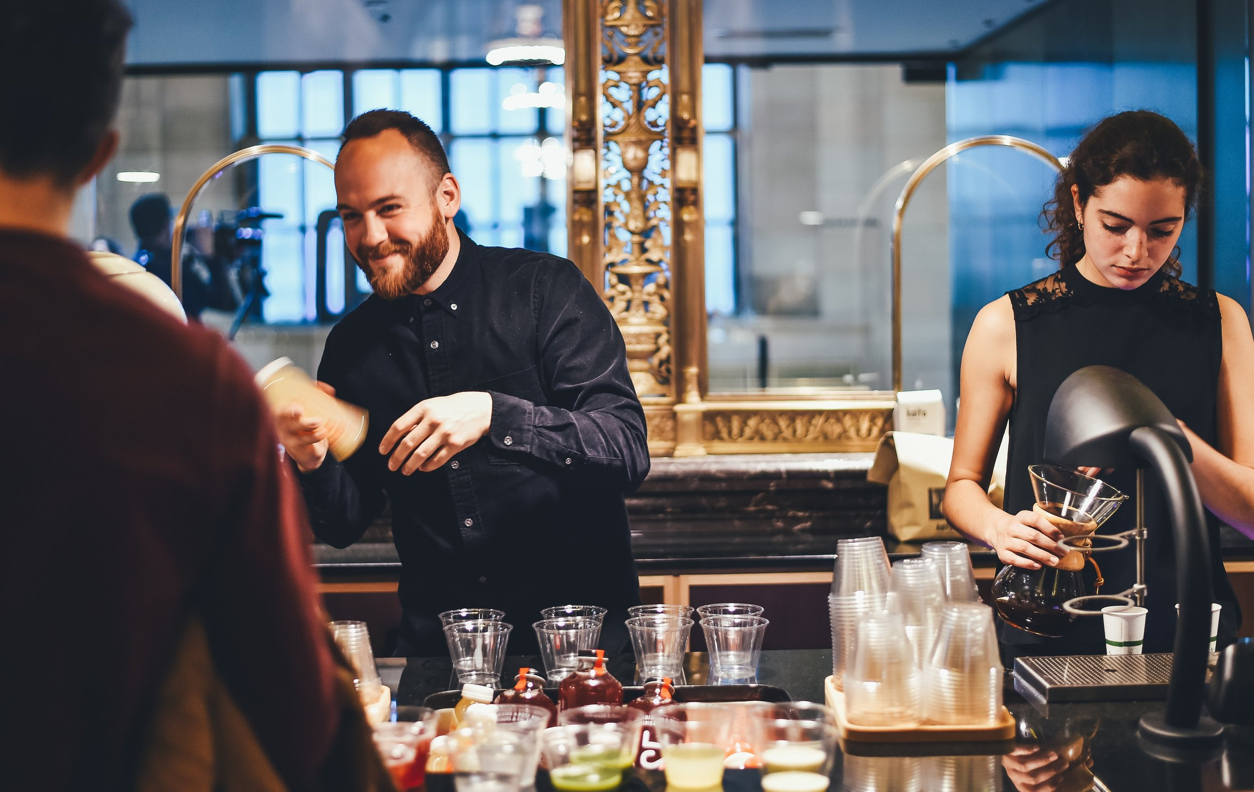 Licensed & Insured Bartenders - - whether alcohol is purchased through CHRG or supplied by client, CHRG can supply bartenders. Corking Fees apply for alcohol supplied by client, served by CHRG bartender.