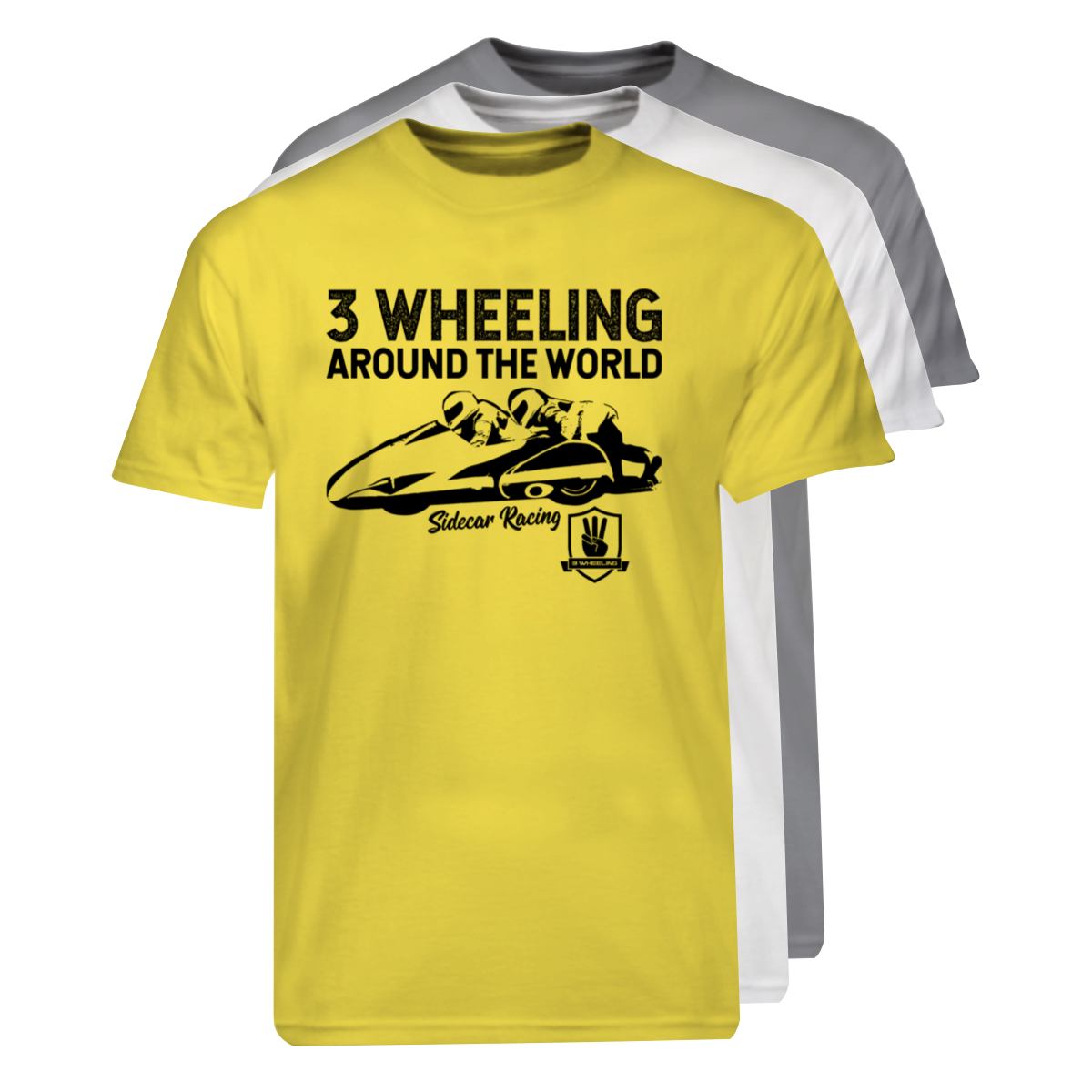 3W T-Shirt Sidecar Racing Stack #1.png