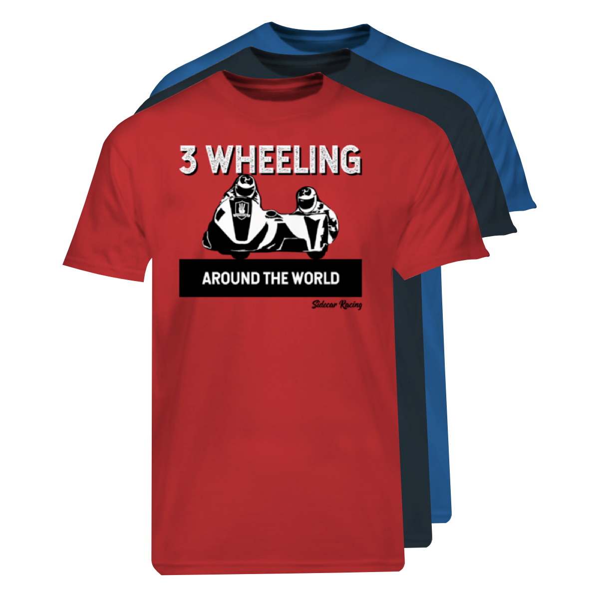 3W T-Shirt Sidecar Racing Stack #2.png