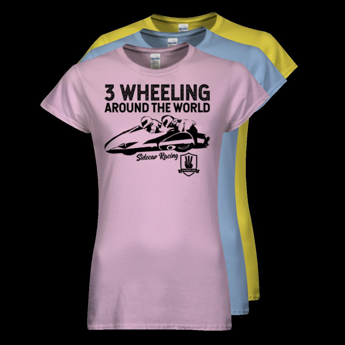 3W T-Shirt Sidecar Racing Stack - Ladies #3.png
