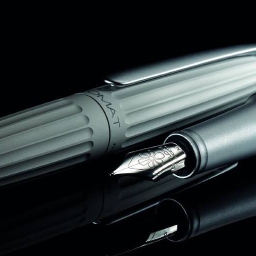 Diplomat's Aero in matte silver is arguably the most iconic; it pays tribute directly to the airship that inspired it. Matte Silver Aeros are available and all modes are on sale now, at Points! Link in bio.  #diplomatpens #diplomataero #aero #fountainpen #fountainpens #fpgeek #fpgeeks #fpaddict #pointspens #shopsmall #shopsmallbusiness