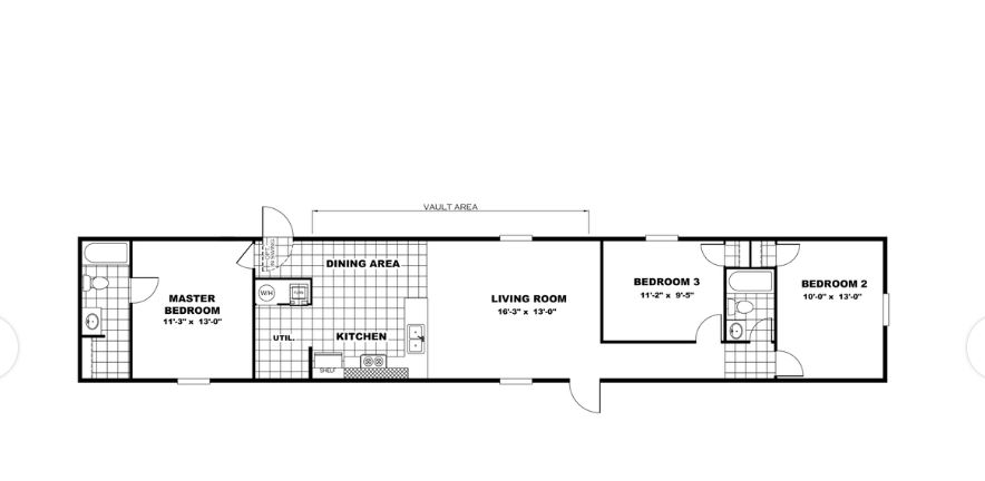 Layout of new homes