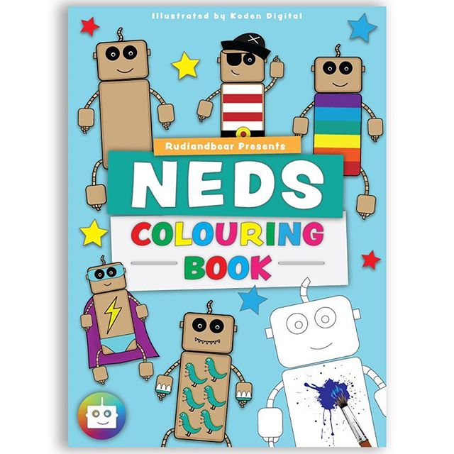 Another project for @rudiandbear. A 12 page colouring book with 250gsm gloss cover and 8 internal uncoated pages . . . #colouring #colouringbook #colouringbooks #colouringin #graphicdesign #graphicdesigner #digitalart #adobeillustrator #adobe #woodentoys #art #illustration #illustrator #illustrations #design  #publisher #selfpublished #localbusiness #book #bookstagram #books #toddler #booksforkids #kidsart