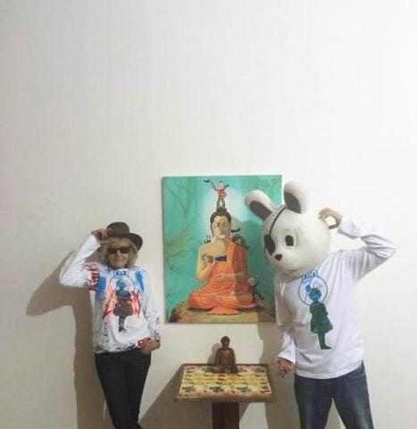 Fury Mix The Cat, Galerie Area Paris Duo avec l'artiste Coréen The Jack 더잭