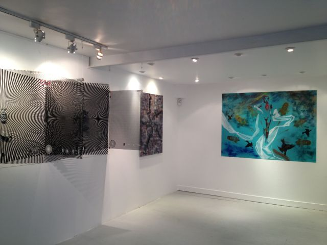 Autour du psychédélisme, Galerie Janos