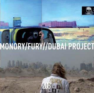 Monory Fury Dubaï Project, Galerie Chicheportiche
