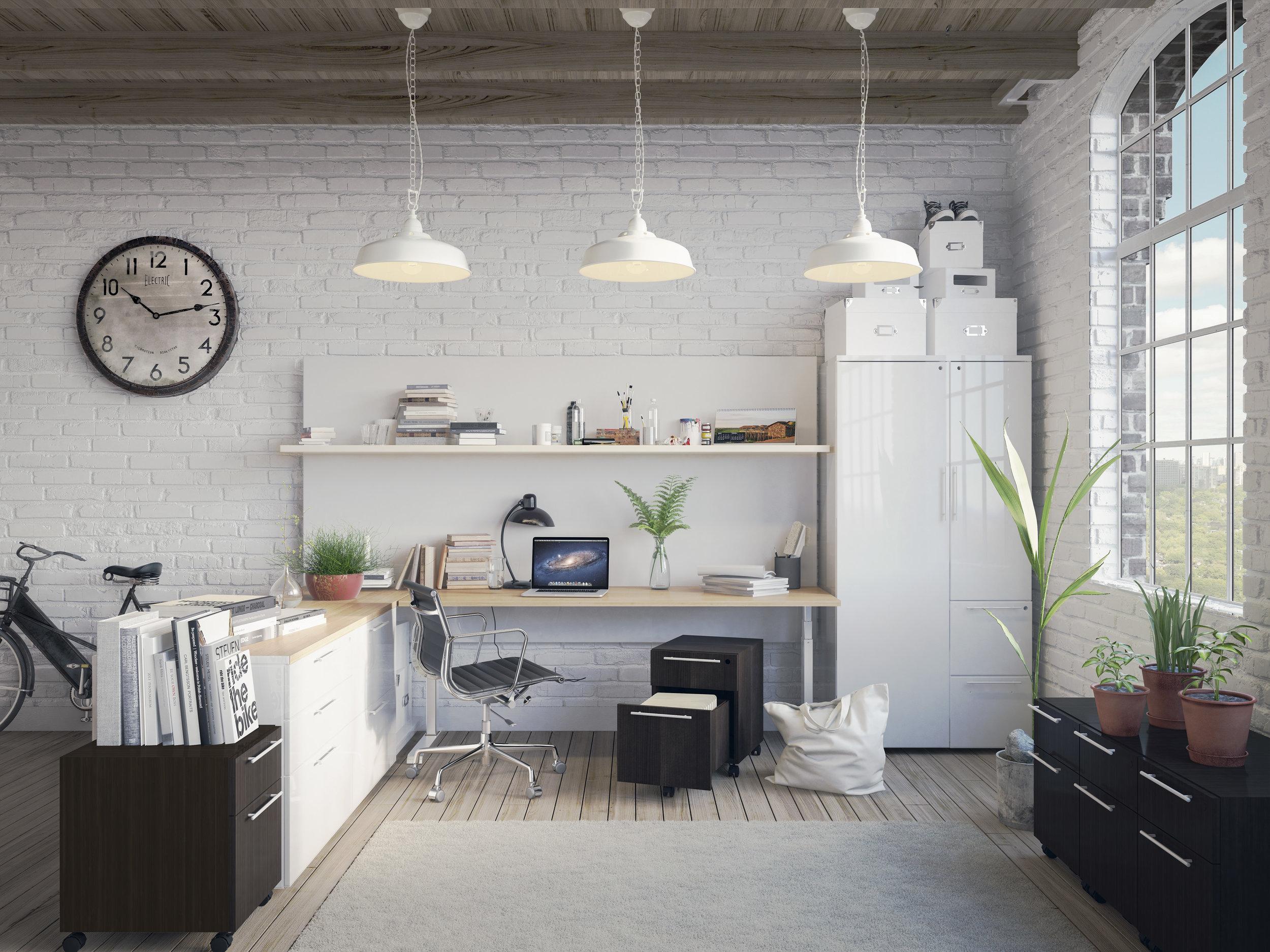 Desking and Storage