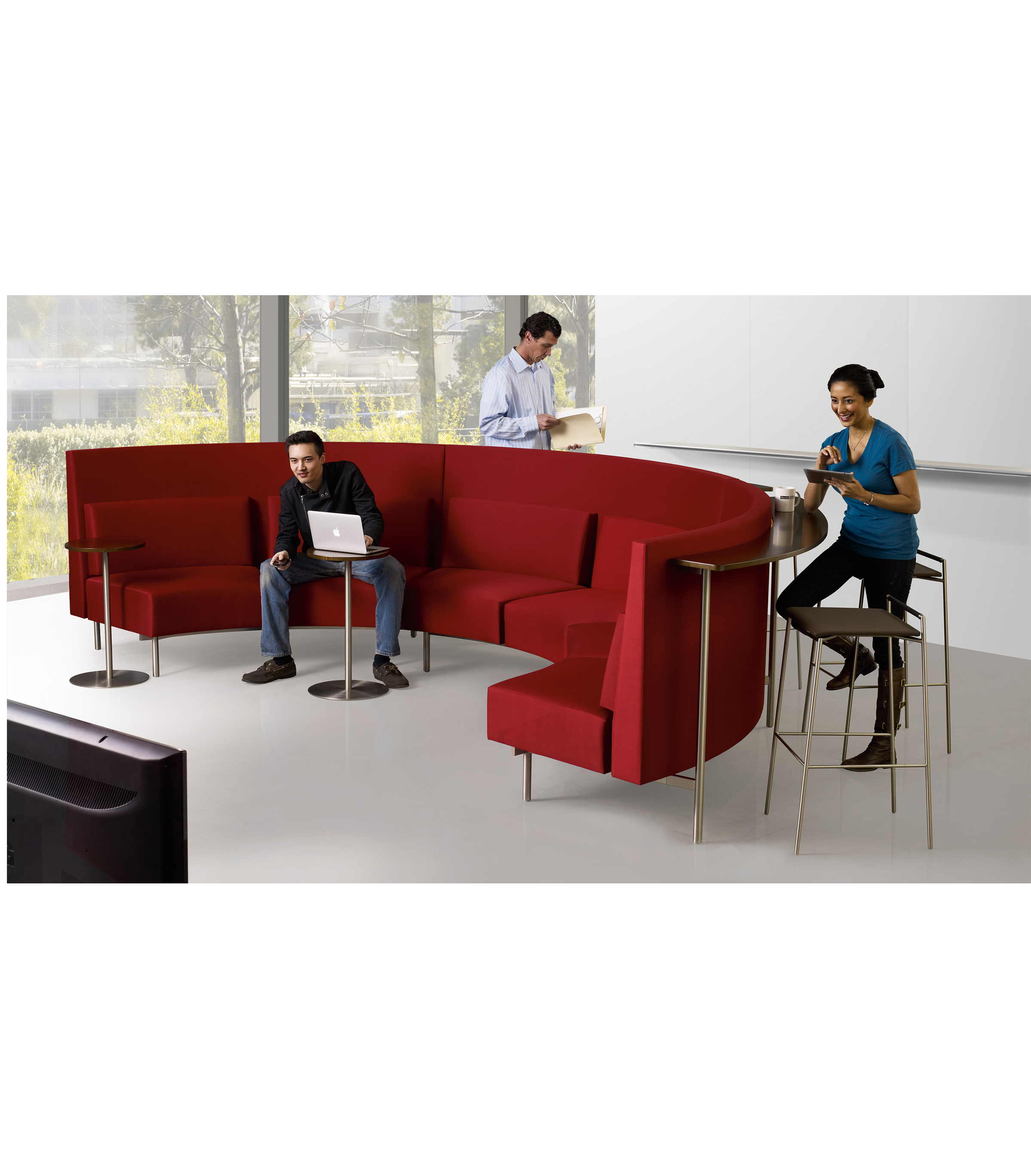 Reveal Mid-Back Seating & Stools