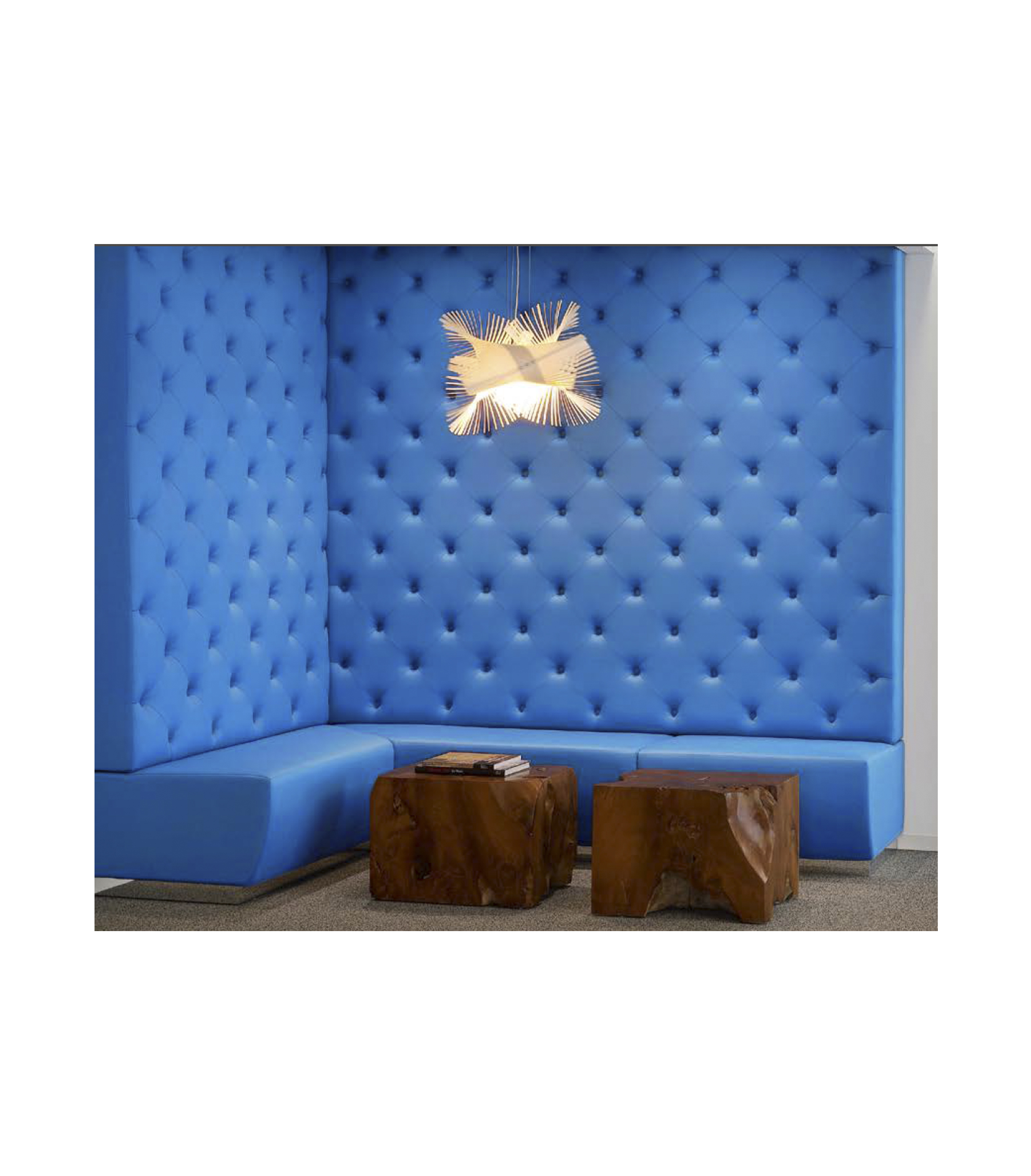 Custom Tufted Banquette