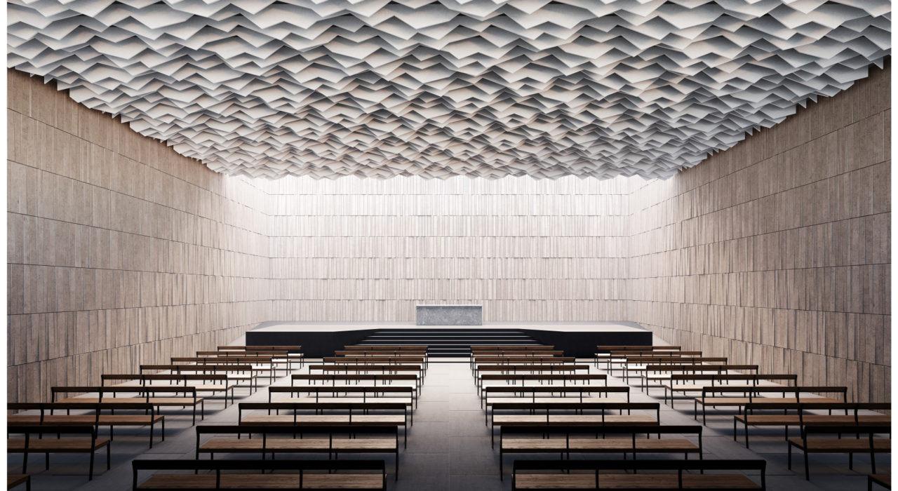 New - Apex Ceiling Baffle