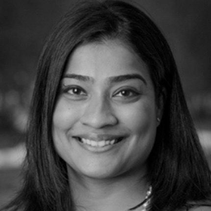 <h3>ASHA VARGHESE</h3><h5>Director of Global Health</h5><i>GE Foundation</i>