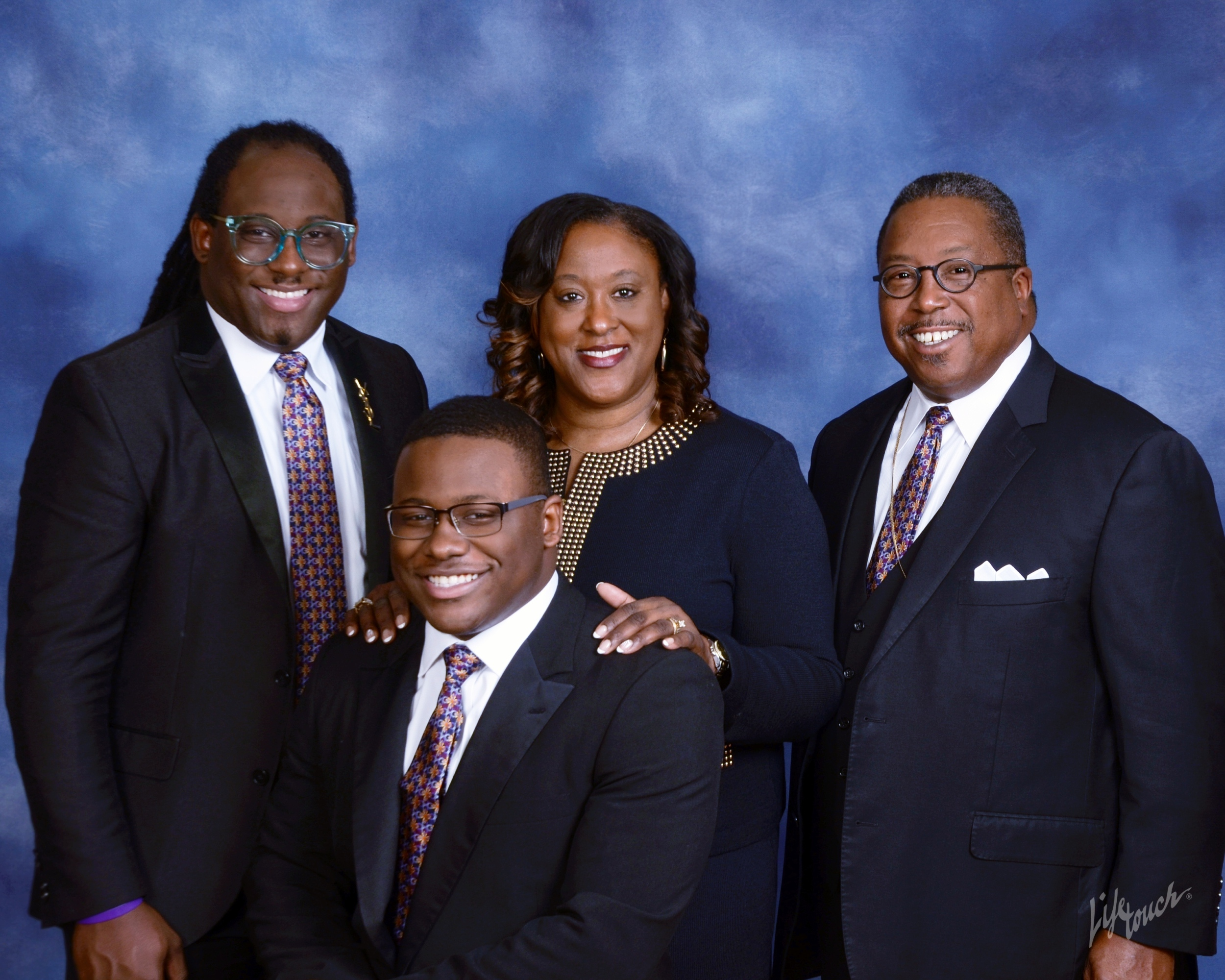Booker Family - He is married to Lady Gail G. Booker and has two sons Daeryl