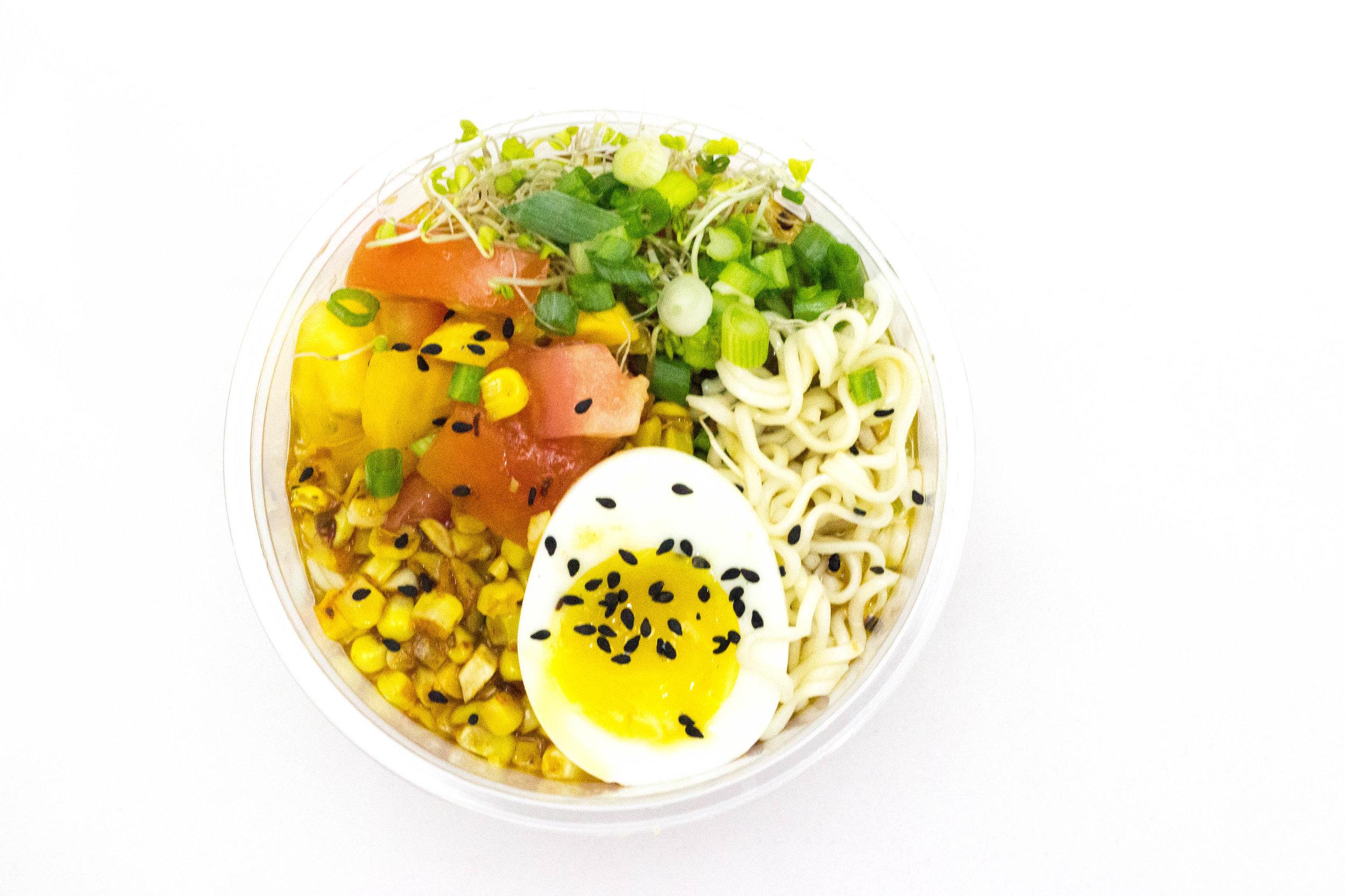 cold ramen bowl / hiyashi chuka