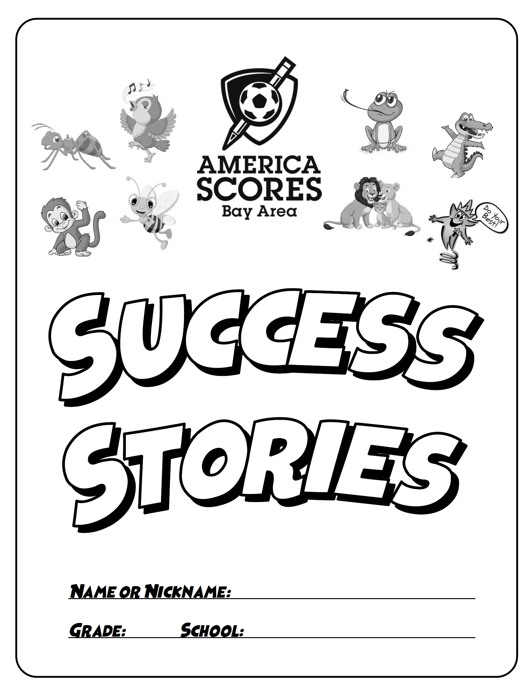 Success Stories character-building workbook (1st-2nd Grade)