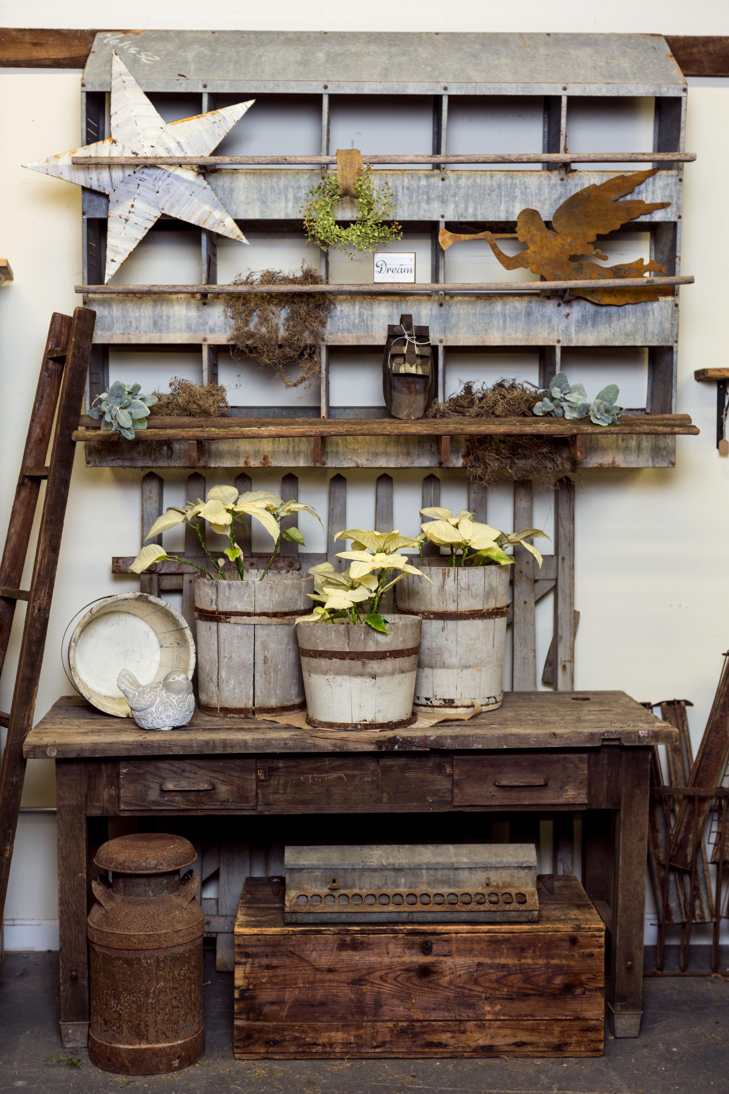 Farmhouse decor at Revival