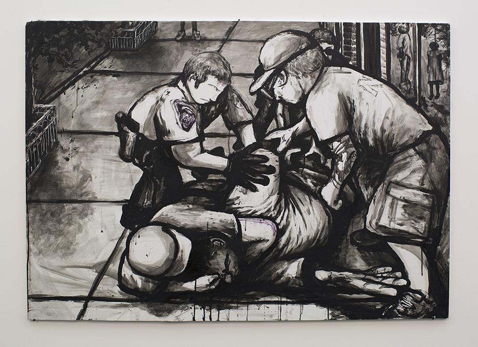 Police Cross Lines 1 - The Eric Garner Lynching