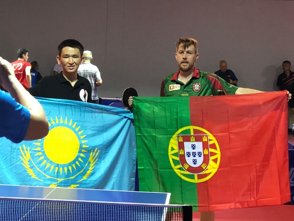 Podium nos Jogos Europeus (2018).
