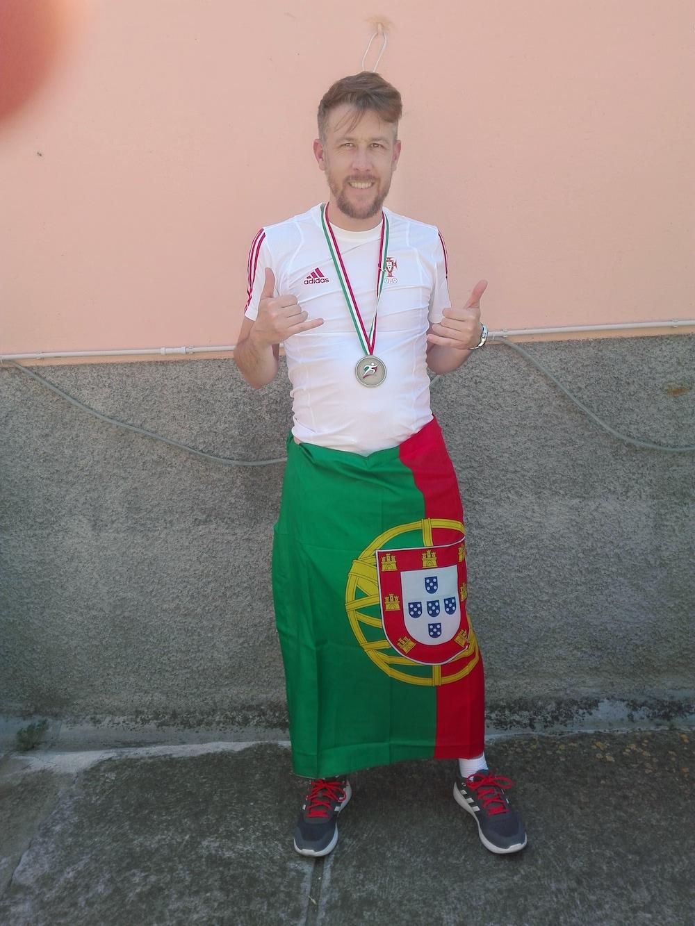 Em Portugal.