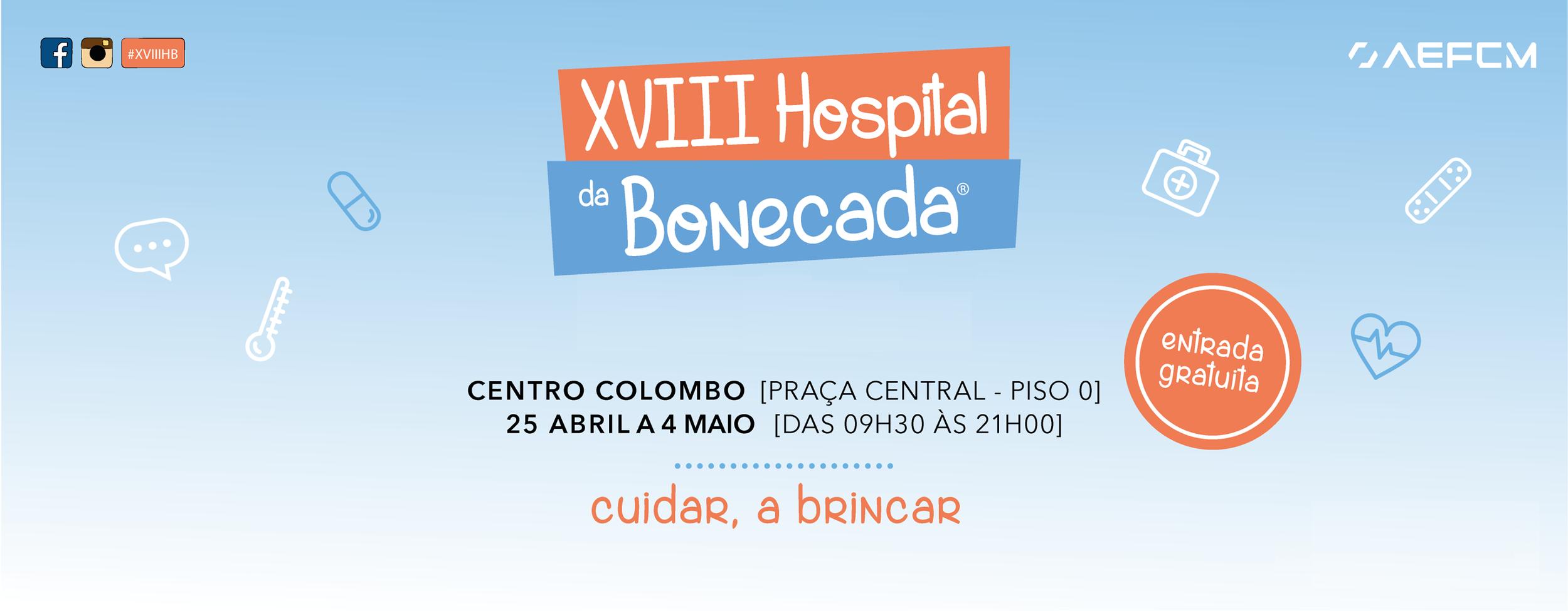 """Hospital da Bonecada no Colombo para cuidar do """"dói-dói"""" enquanto ensina os mais pequeninos"""