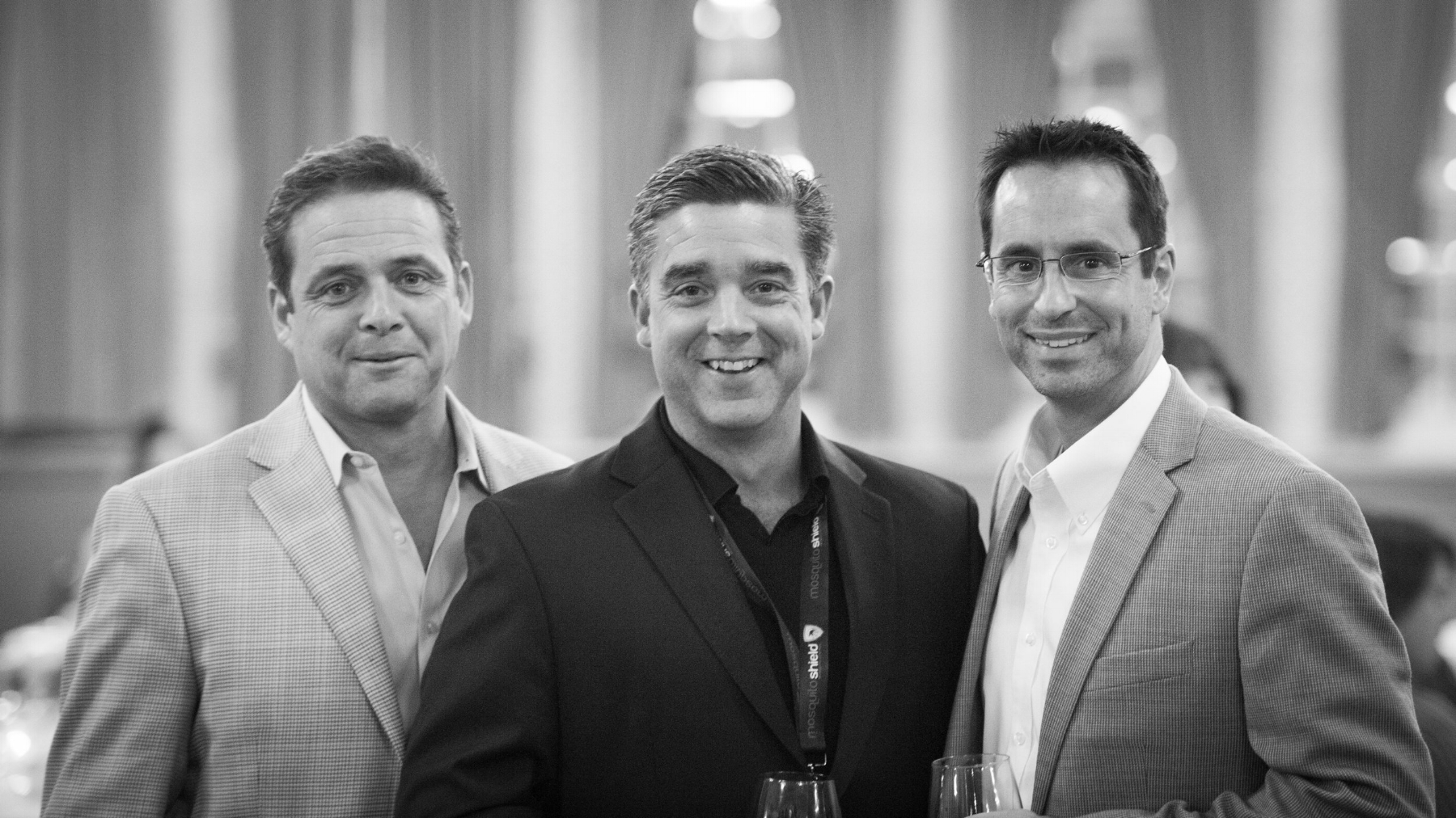 L to R David Briggs – Founder/President, Brad Maher – VP of Operations, Michael Moorhouse – VP of Sales and Marketing