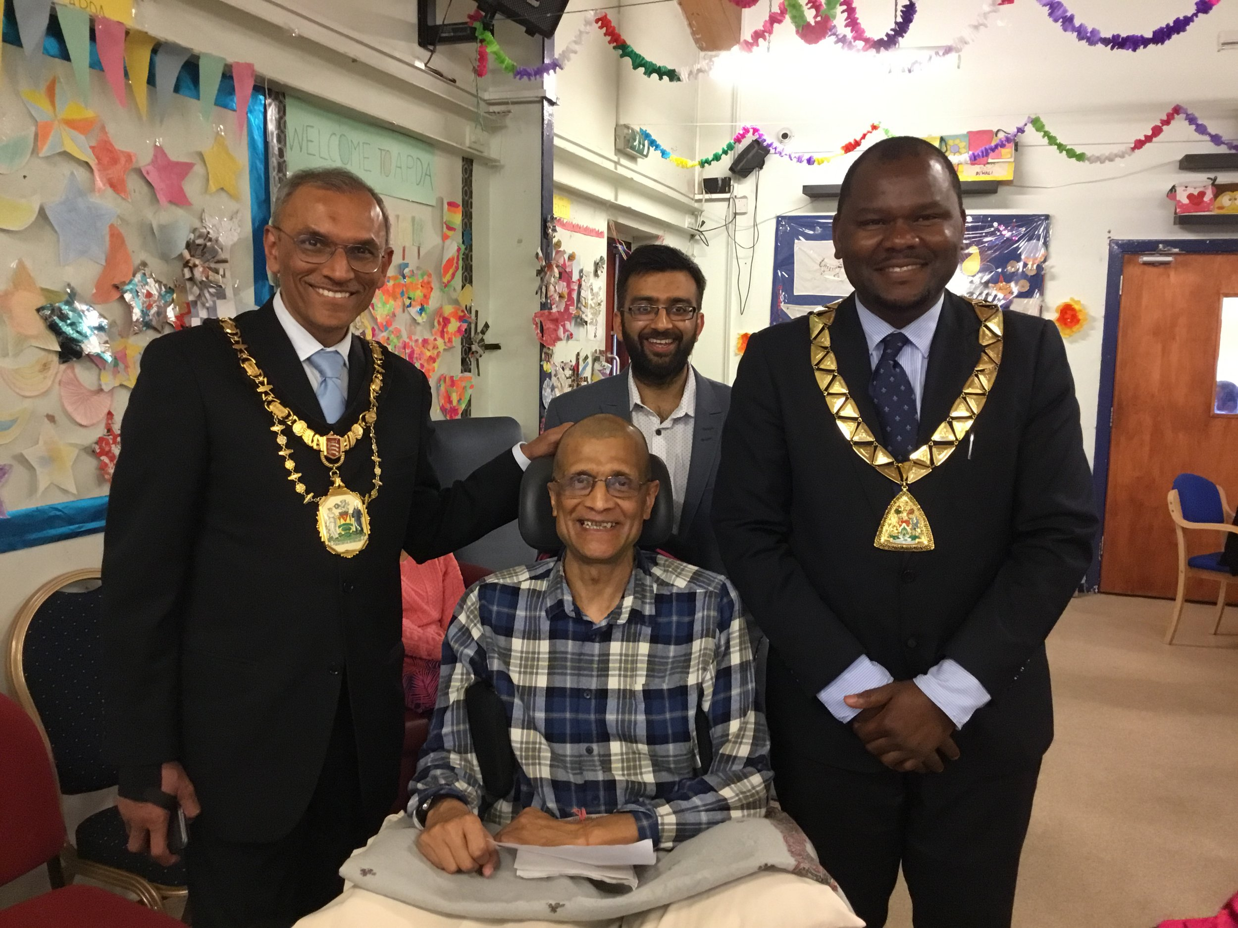 Click on the above pictures for speeches from the Mayor of Harrow Nitin Parekh and Mayor of Brent Ernest Ezeajughi