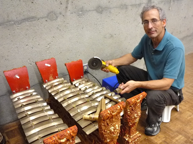 Wayne Vitale - Tuning a Gamelan Semaradana in Vancouver, BC