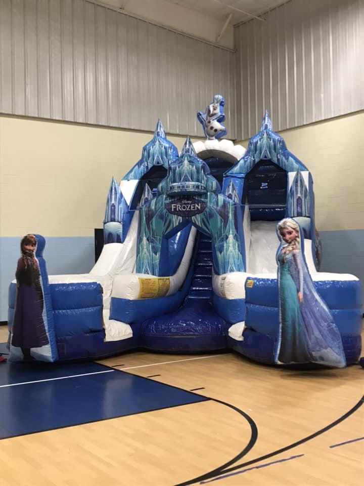 Frozen Double Slide from Arkansas Bounce