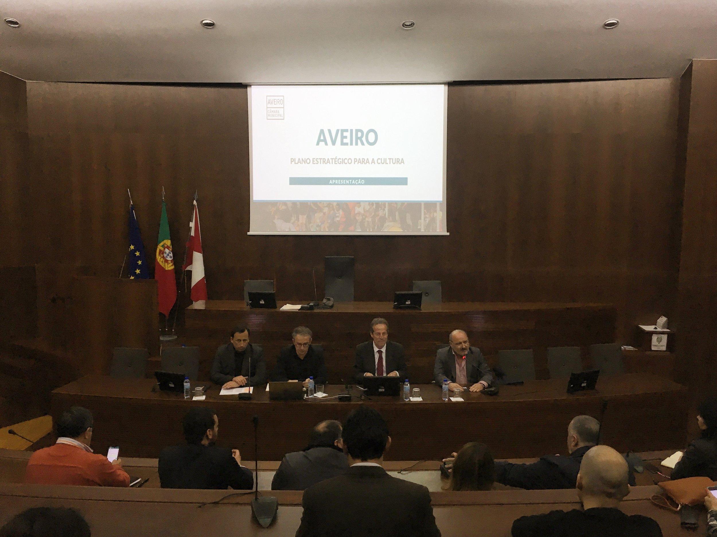 Sessão de Apresentação do Plano Estratégico para a Cultura | DR