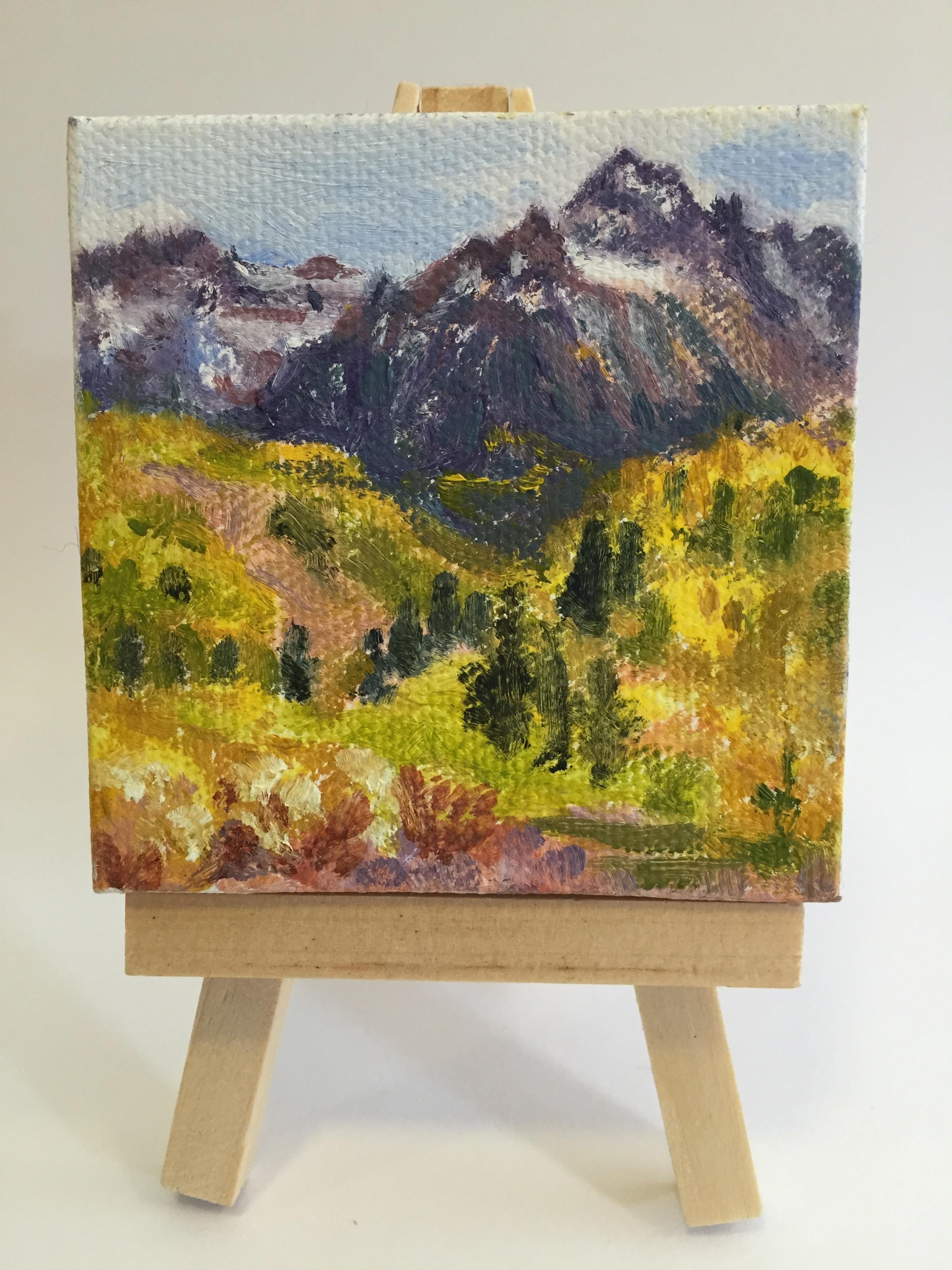View of Mount Sneffels