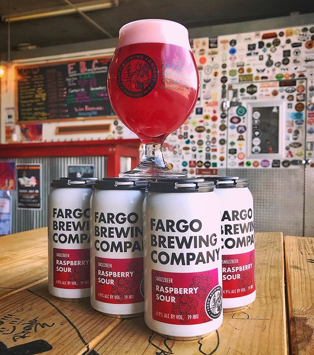 The Raspberry Snozzbeer is finally here! Stop into the Ale House or Brewery for a glass today! 6 packs of cans are also available only at The Brewery! And remember! Invention, my dear friends, is 93% perspiration, 6% electricity, 4% evaporator and 2% Raspberry Snozzbeer 😉