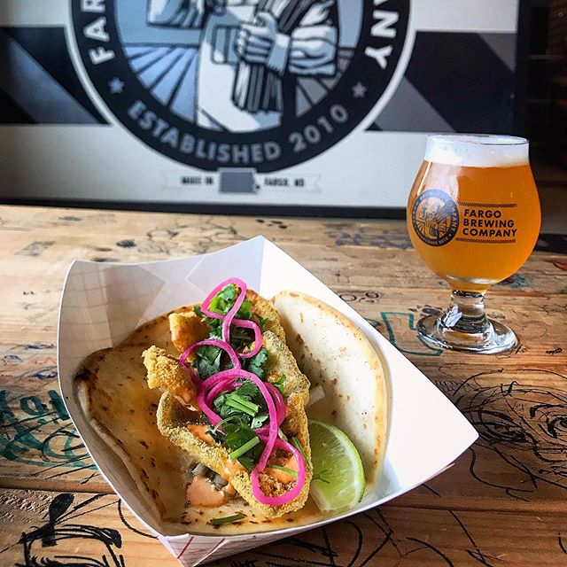 They're baaaack!  Luchadores Sunfish Tacos are here for the summer!  Crispy hand-fried Sunfish with spicy slaw, cilantro, habanero pickled onions and chipotle ranch sauce! Enjoy them with our New England IPA, Stratanot today!