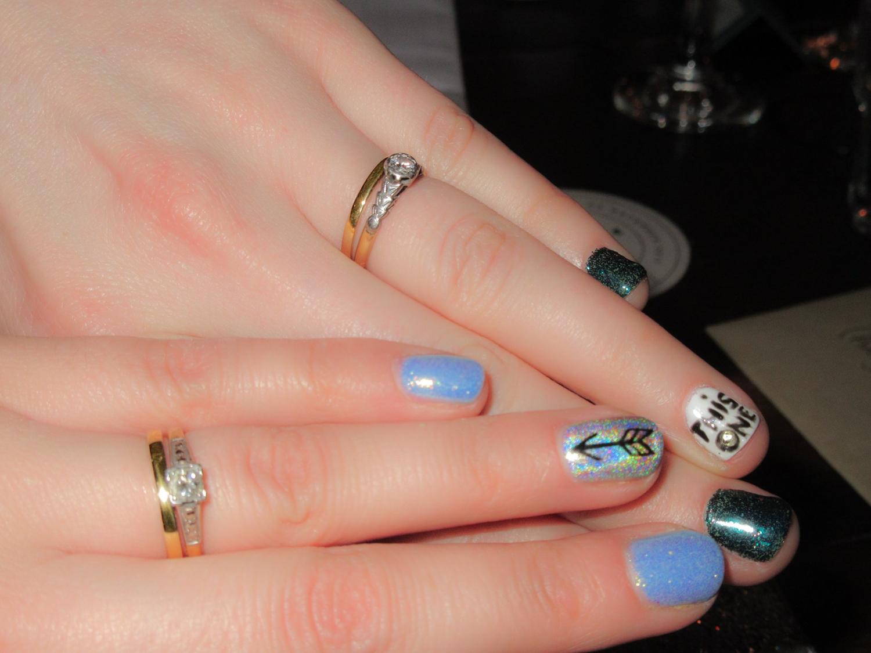 Eco gold ethical wedding rings vintage diamond engagement
