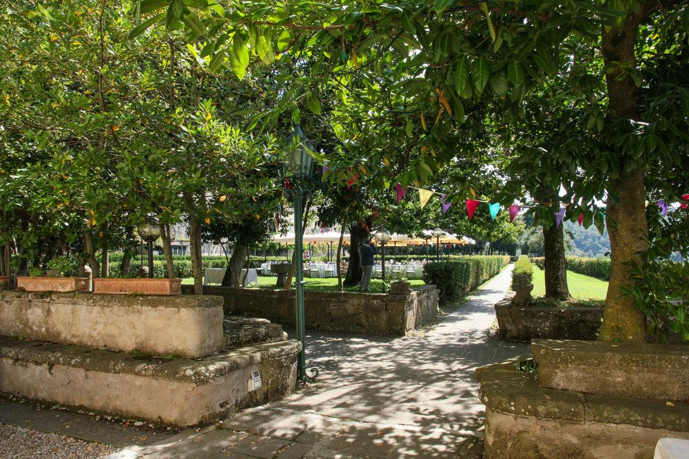 Villa Palazzola gardens
