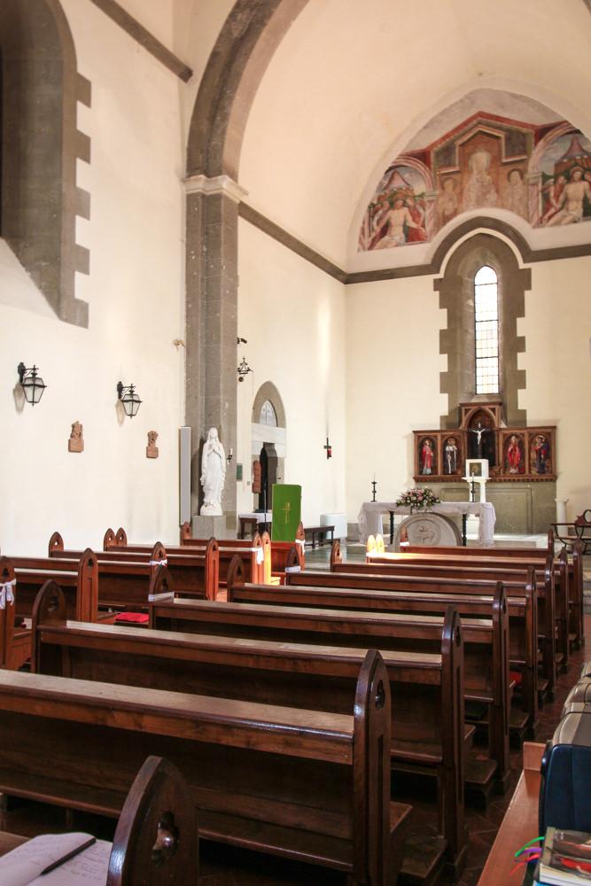 The chapel at Villa Palazzola Rome