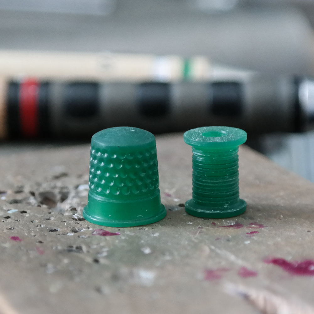 Wax carving for jewellery handmade sewing thimble