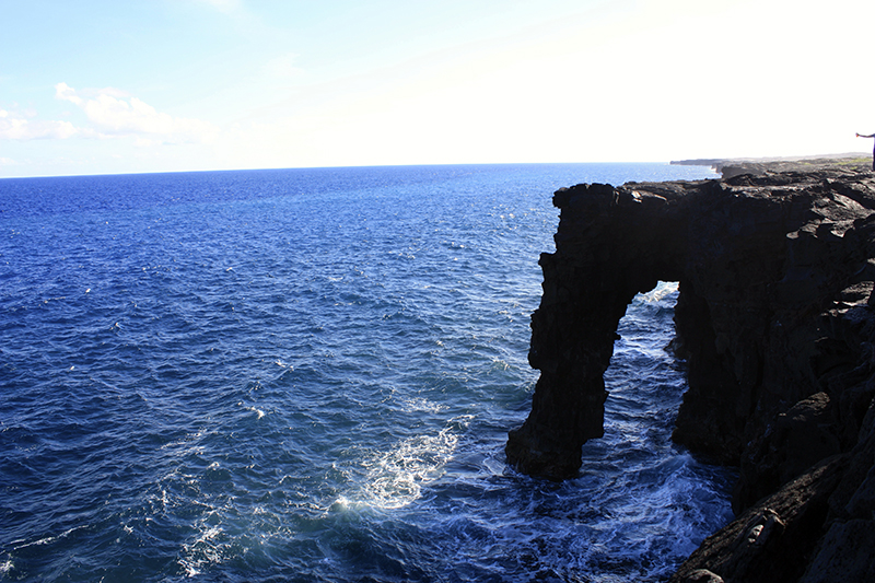 Kilauea sea arch