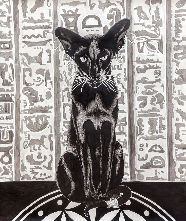 Bastet:  Goddess of Ointment, Killer of Cobras and Mother To All Strays