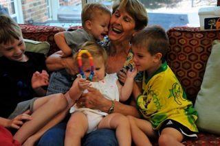 Lucy with Grandchildren.jpg