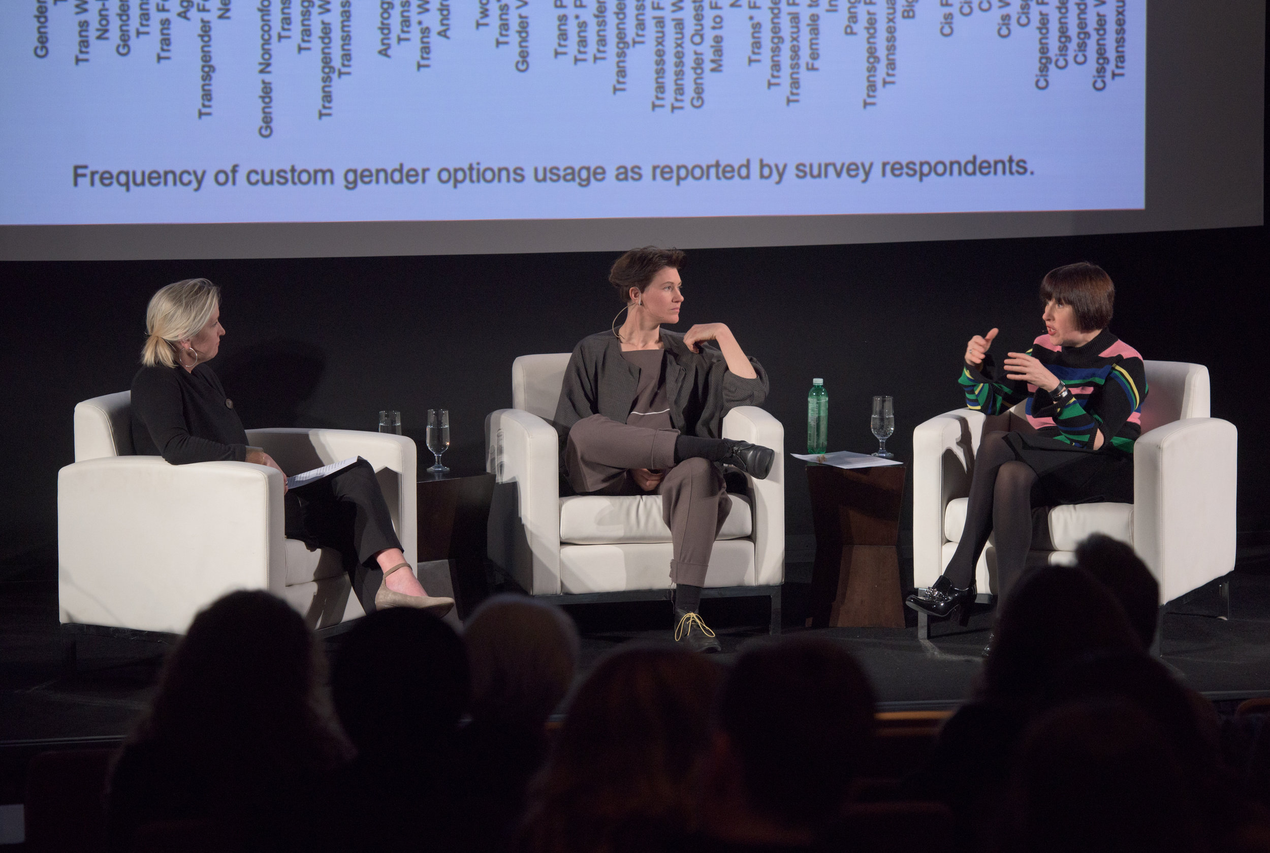 photo Kevin Allen  Fresh Talks |  National Museum of Women in the Arts,  Washington D.C. USA, Keynote Presenter, With  Alice Rawsthorn . A conversation on the role of gender identity in design.