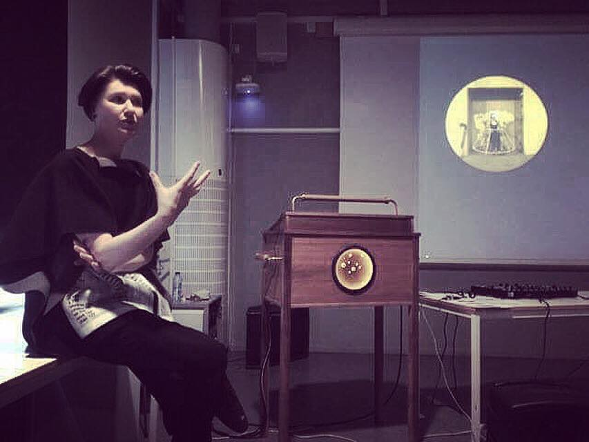 Performance Lecture |   HDK – Academy of Design and Crafts , University of Gothenburg. With professor  Judith Seng