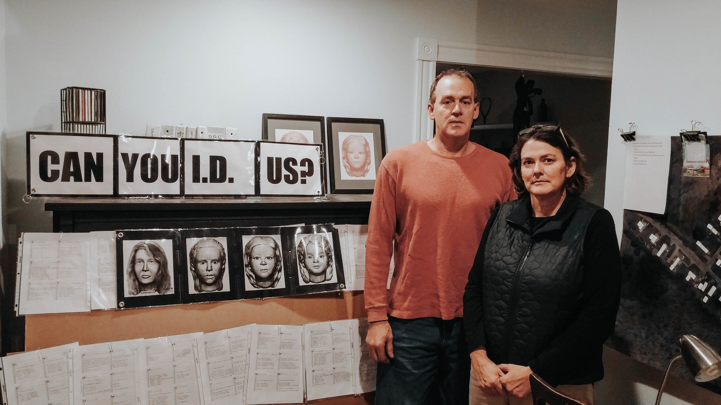 Ronda Randall and her brother, Scott Maxwell, have dedicated countless hours to trying to identify the people found in two barrels in the woods of Allenstown, New Hampshire.